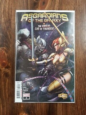 Asgardians Of The Galaxy #3 Marvel Comics 2018 11/07/18 1St Print