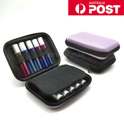 NEW 10ml Roller Bottles Essential Oil Case Carry Holder Storage Aromatherapy Bag