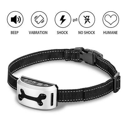 Bark Collar for Small Large Medium Dog COSEZIN Humane No Bark Dog Training
