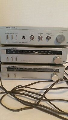 Realistic TM-152 AM Stereo Tuner TM-150 SA-150 Radio Shack Tandy Model 31-1967