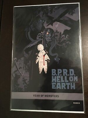 B.P.R.D. Hell on Earth - Pickens County Horror #1 - Year of Monsters Variant