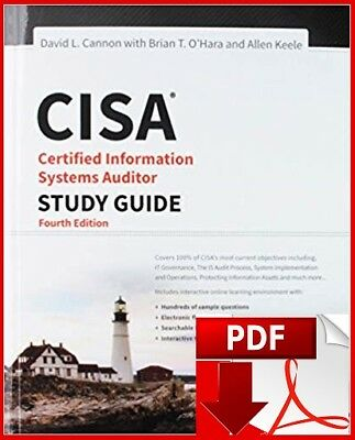 CISA Certified Information Systems Auditor Study Guide - 4th Editon