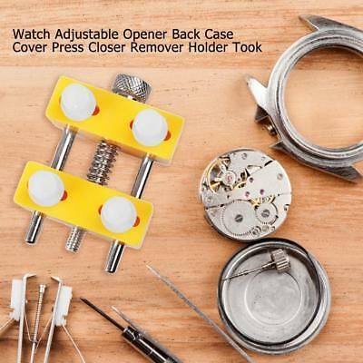 Watch Adjustable Opener Back Case Cover Press Closer Remover Holder Took