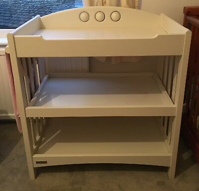 Mamas and Papas 3 Tier White Changing Table