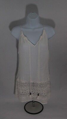 df938483 NY&C NEW YORK & Company WHITE Sequin Tank Top SIze M Womens - $5.00 ...