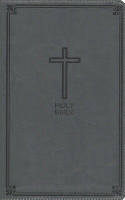 NIV, NKJV, SIDE-BY-SIDE Bible, Compact, Leathersoft, Tan/Brown: Two
