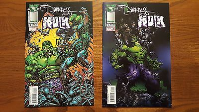The Darkness / The Incredible Hulk #1, 1 (2004 Top Cow / Marvel) NICE - LOOK!