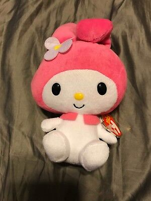 e70b8923dd9 TY MY MELODY BEANIE BABY - MINT (HELLO KITTY SANRIO) - MINT with MINT