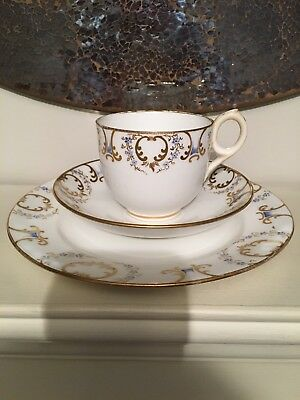 ANTIQUE Mid To Late 19th Century Davenport Tea Trio - Reg 2537