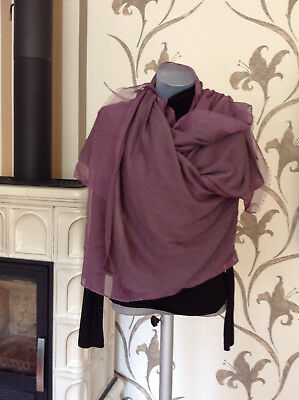 0ed5b79faa5156 Herrenmode Pashmina Schal Made in Italy Barzan Ruocco Schal violett lila  Frau Wolle Kleidung & Accessoires