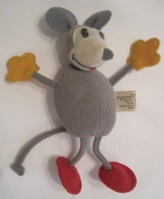 1983 VINTAGE  FELIX CAT CARTOON SKIDDOO MOUSE DOLL from the 1930s