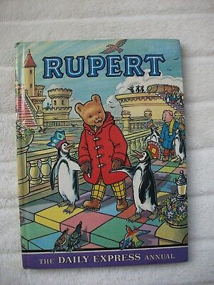 ORIGINAL RUPERT BEAR ANNUAL 1977 - UNCLIPPED - ILLUSTRATED by CUBIE - VGC