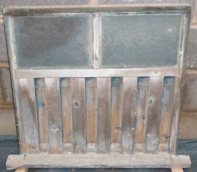 Old Reclaimed Salvage Cow Shed Barn Glazed Window / Ventilation Shutter