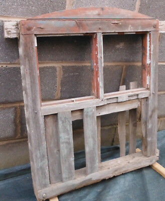 Old Reclaimed Salvage Cow Shed Barn Window / Ventilation Shutter