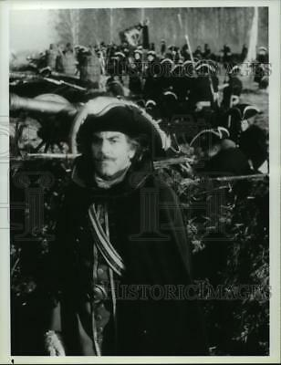 1985 Press Photo Maximilian Schell stars in Peter the Great, on NBC. - spp53489