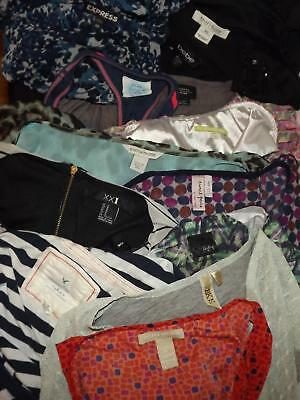 Womens CLOTHING WHOLESALE Huge LOT Shirts Sweaters Tops Brand Names 125 pcs