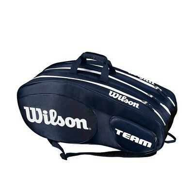 Wilson Team 12-er Bag blau7weiß