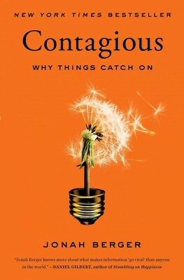 Contagious : Why Things Catch on, Paperback by Berger, Jonah, ISBN 1451686587...