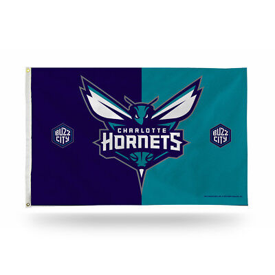 Charlotte Hornets NBA 3X5 Indoor Outdoor Banner Flag with grommets for  hanging 04063693d46b