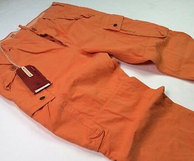 5981fbf2 Polo Ralph Lauren Men Military USA Army Surplus Trouser Field M-41 Cargo  Pants