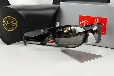 NEW RAY-BAN RB4263 601 5J Chromance Polished Black Silver Polarized ... 91410cb17df8