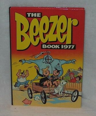 """Vintage """"The Beezer Book 1977"""" Annual – Marvellous Big Birthday Gift!!!"""
