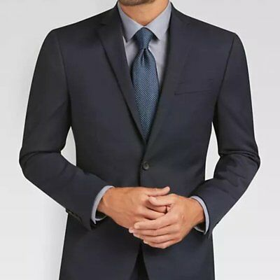 KENNETH COLE Men's 'AWEARNESS' AWEARNESS TECH EXTREME SLIM FIT Blue SUIT - 2XL