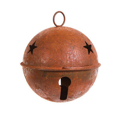 Darice Large Rusted Vintage Bell Decorative Rusty Metal