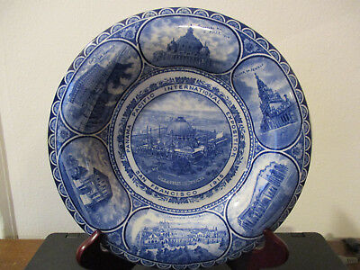1915 Panama Pacific Exposition Souvenir Rowland Marsellus Plate San Francisco *