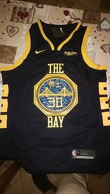 huge selection of 1823d f2f63 STEPHEN CURRY - Golden State Warriors Earned Edition Swingman Navy NBA  Jersey