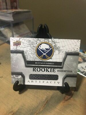 18-19 Artifacts Buffalo Sabres Rookie Redemption Card # RED184 Rasmus Dahlin