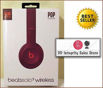 NEW SEALED Beats Solo3 Wireless POP MAGENTA Headphones Solo 3 TRUSTED SELLER
