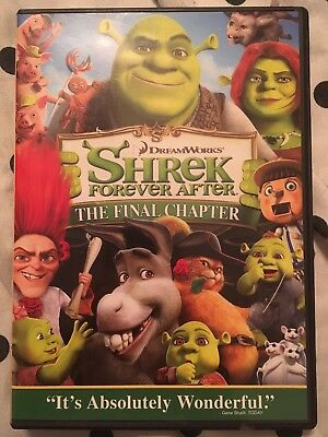 Shrek Forever After (DVD, 2010). Good Condition.