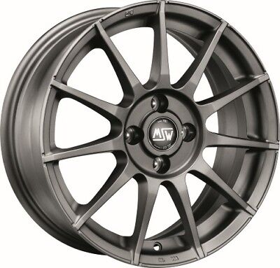 4 alloy rims  MSW 85 6x14 for FIAT BRAVO (182)