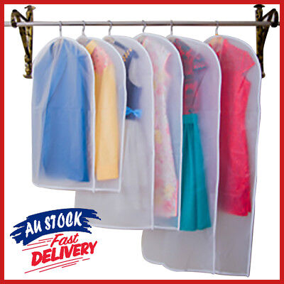 Suit Waterproof Dress Cover Clear Clothes Protector Dustproof Garment Travel Bag