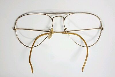 2e3a66481ab683 Vintage B l Ray Ban Bausch   Lomb 1 10 12k GF Aviator Sunglasses Frame Only