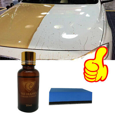 Car Liquid Ceramic Coat Nano Hydrophobic Ceramic Coating Polish Anti-scratch 9H