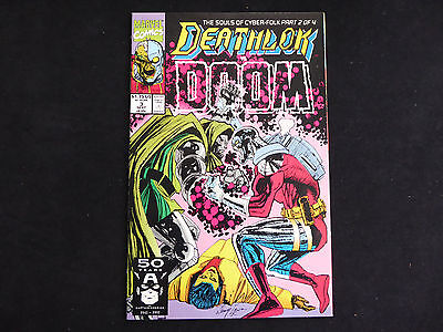 Deathlok #3 (Sep 1991 Marvel)