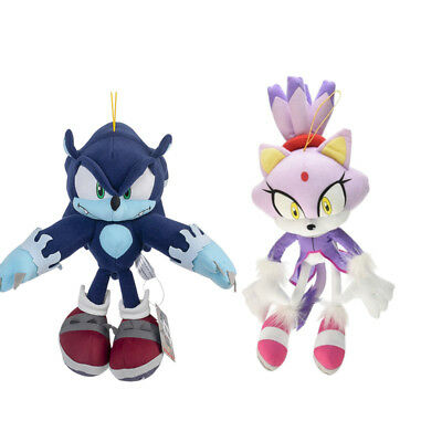 Sonic The Hedgehog Sonic The Werehog Blaze The Cat Plush Toy Stuffed Doll Gift Tv Movie Character Toys Mmep Co Za