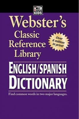 Webster's Spanish English Dictionary, Paperback by American Education Publish...