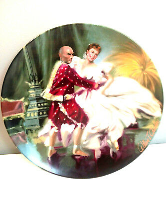 Knowles 1985 The King and I, Shall We Dance by William Chambers Collectors Plate