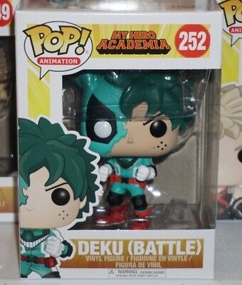 Funko Pop Deku Battle #252 My Hero Academia Brand New