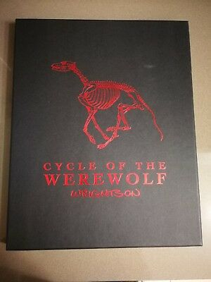 Bernie Wrightson art portfolio - Cycle of the Werewolf - limited and signed