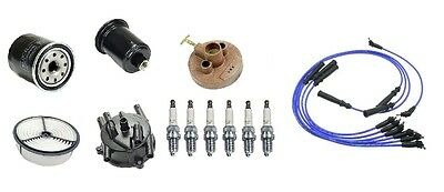 TUNE UP KIT FOR 1988-1991 TOYOTA 4RUNNER  Filters// CAP ROTOR// SPARK PLUGS WIRE