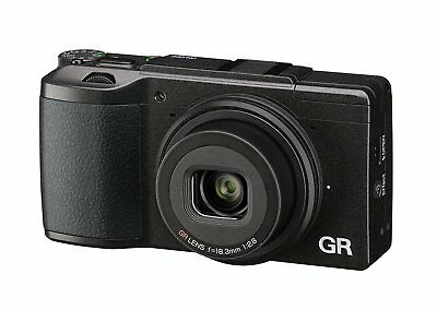 Ricoh GR II Digital Camera Black ON SALES Original Box UK FREE-DUTY-ZONE*au