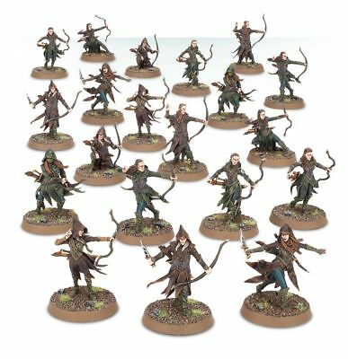 Warhammer Hobbit Mirkwood Rangers The Lord of the Rings plastic new