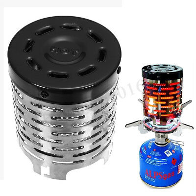 Portable Heater Butane Cap Gas Stove Small Warmer Outdoor Hiking Camping Winter