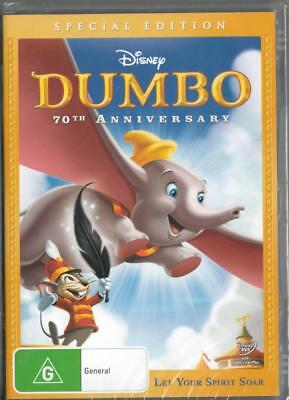 Dumbo - Disney - New & Sealed Region 4 Dvd Free Local Post