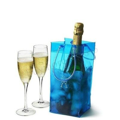 Wine Beer Champagne Ice Cooling Bag Bottle Chiller Picnic Travel Party Carrier