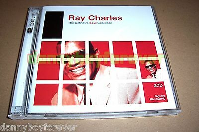 Ray Charles 2 CD Set The Definitive Soul Collection Rhino